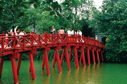Ngoc Son Temple - Highlight of Vietnam Tour