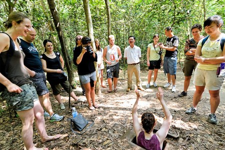 Picture for attraction Cu Chi Tunnel