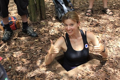 Cu Chi Tunnels - 8 Days south Vietnam Cambodia Tour