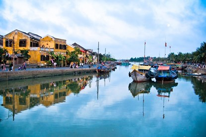 Thu Bon River  - Hoi An  Local food tour