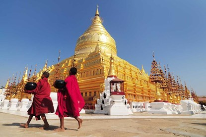 Shwe-Zi-Gon Pagoda - Bagan day tour
