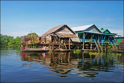Tonle Sap -  Cambodia Day Tour