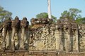 Elephants Terrace - Cambodia Day tour