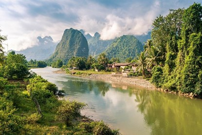 Vang Vieng - Vientiane One Day Tour