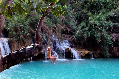 Kuang Si Waterfall - Luang Prabang Day Tour