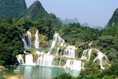 Ban Gioc Waterfall - Vietnam Adventure Tour