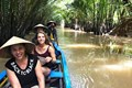Rowing boat on Mekong Delta - Mekong Delta Day Tour