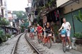 Biking in Hanoi Capital