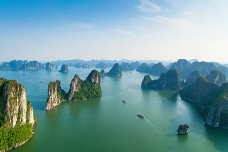 Picture of Ha Long Bay among world's 25 most beautiful places: CNN